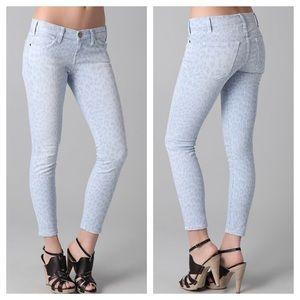 """Current/Elliott """"The Stiletto"""" Cashmere Blue Jeans"""